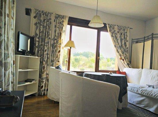 Hotel Rural Llano Tineo: Saloncito habt1