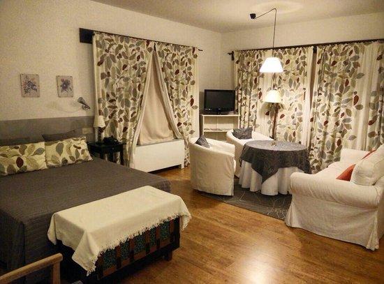 Hotel Rural Llano Tineo: Habt 1, es mas grande de lo q parece