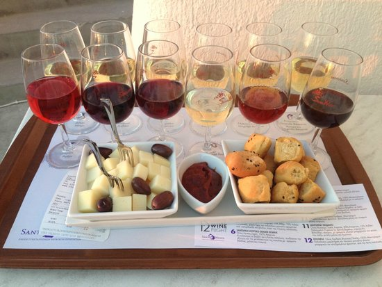 Megalochori, Greece: wine tasting