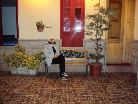 La Posada del Viajero: En el patio de la Posada
