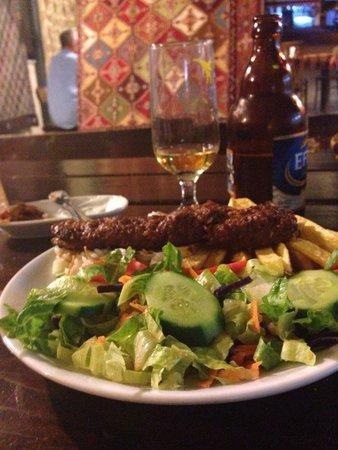 Mehmet and Ali Baba Kebab House : Recomendacion del chef
