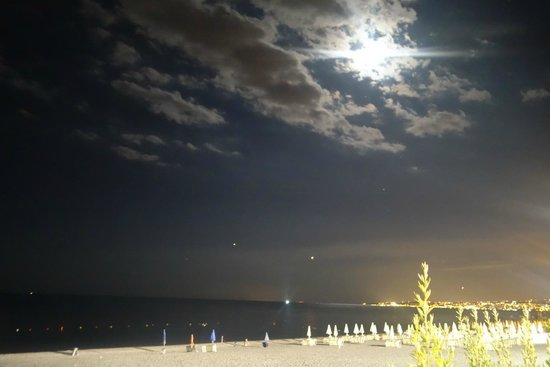 Sea Sound: View from beachside table