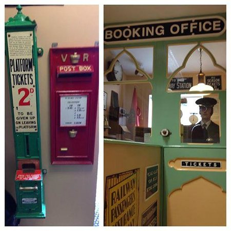 Barber Shop Bangor : Headhunters Barber Shop & Railway Museum: Enchanting entrance prepares ...