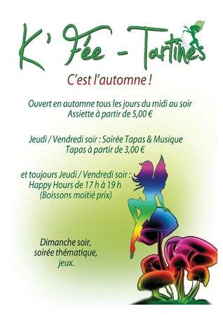 K Fee Tartines: Soirée Tapas