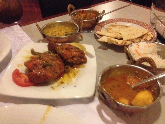 annapurna restaurant : Degustacion