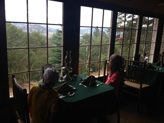 The Baldpate Inn: View from the dining room