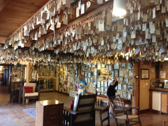The Baldpate Inn: The famous key collection