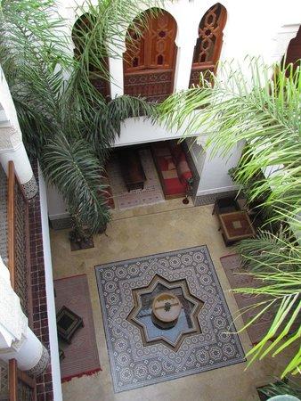 Riad Viva: Vue Riad depuis la Terrasse