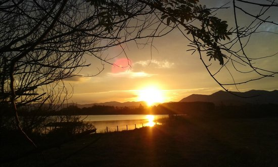 Ibiraquera Lake: Pôr do sol em Ibiraquera