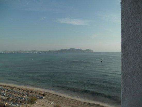 Hotel JS Miramar: Blick Richtung Alcudia aus Zimmer 521