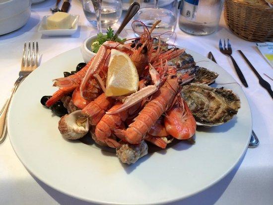 Le Cantorbery : Piatto di frutti di mare... Squisito!