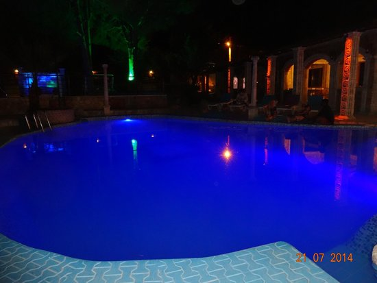 Atilla's Getaway: night swimming