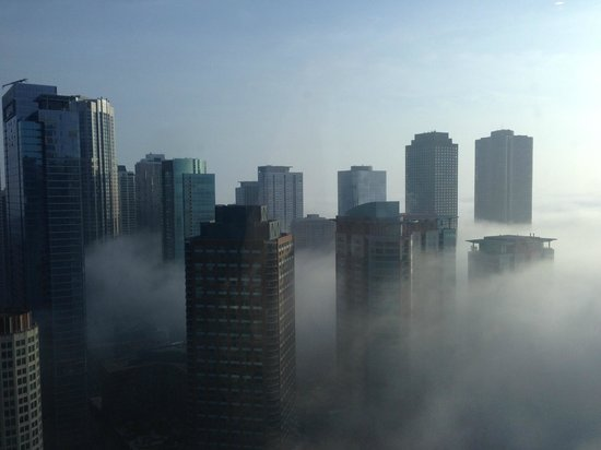 Swissotel Chicago: view from the gym