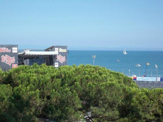 Hotel Europa: vista mare