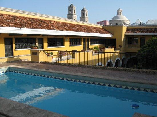 Caribe Hotel: La piscine au dernier étage
