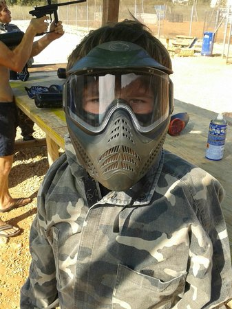 Paintball De Élite: Ready for action - don't mess with Alexander the Great!