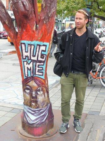Tour Guys: Kit by the Hug Tree