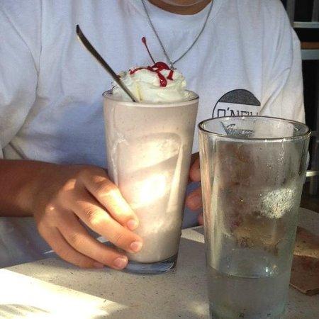 The Counter: Yummy milkshake