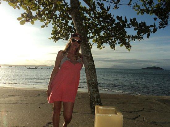 Praia de Manguinhos : atardecer