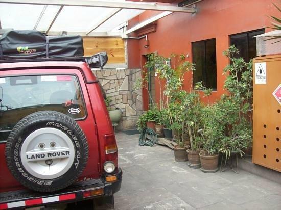 Miraflores House: Ingreso al hospedaje