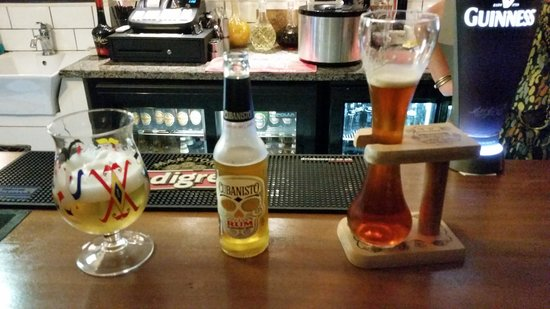 The Apiary Cafe Bar: Huge selection