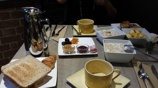 Best Western Hotel Kregenn: colazione ottima