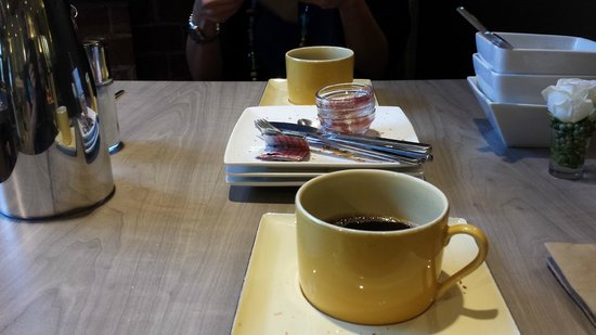 Best Western Hotel Kregenn: colazione finita