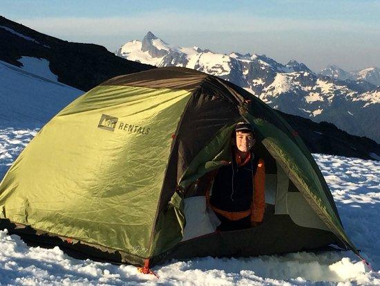 Get In The Wild Adventures: Mt. Baker Base Camp