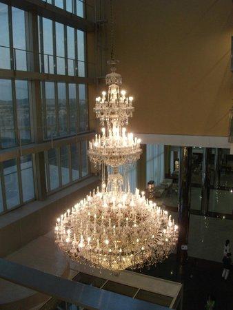 Madrid Marriott Auditorium Hotel & Conference Center : Recepcion Hotel