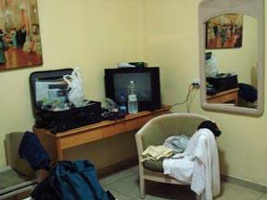 Sky Hostel: First-floor room