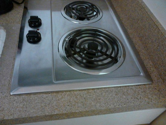 Extended Stay America - Charlotte - Airport : Stove for cooking