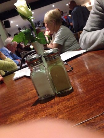 The Point Bar and Restaurant: Table View