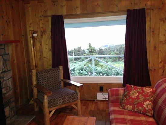 Perce Au Pic de l'Aurore: the living room