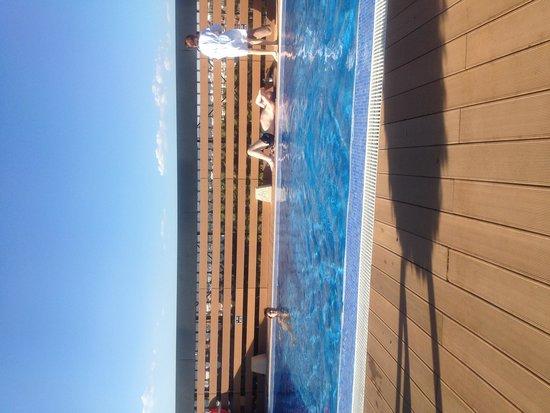 Eurostars Palace: Zwembad op dakterras