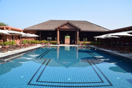 Bagan Lodge : Perfect spot after a hot temple day