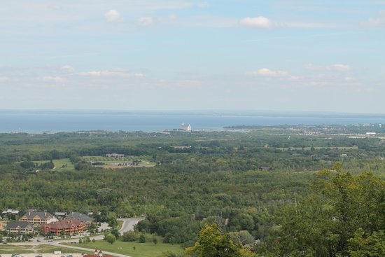 Seasons at Blue - Blue Mountain Resort: View from top of the ski hill