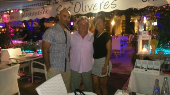 Restaurant Ses Oliveres: Gracias por tratarnos de forma tan especial.