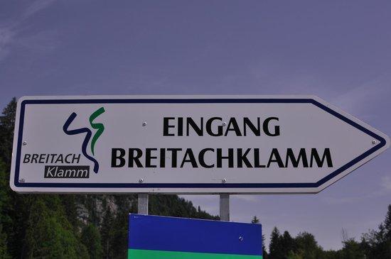 Explorer Hotel Oberstdorf: To the gorge
