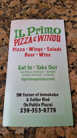 IL Primo Pizza and Wings III
