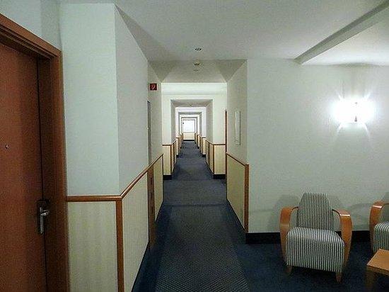 arcona Hotel Baltic: Hotelflur zu den Zimmern