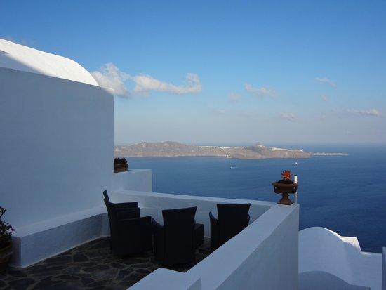 Heliotopos Hotel: Vista