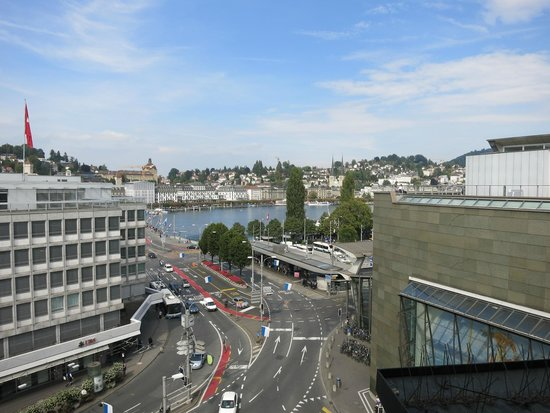 Hotel Monopol Luzern: View from Room 607