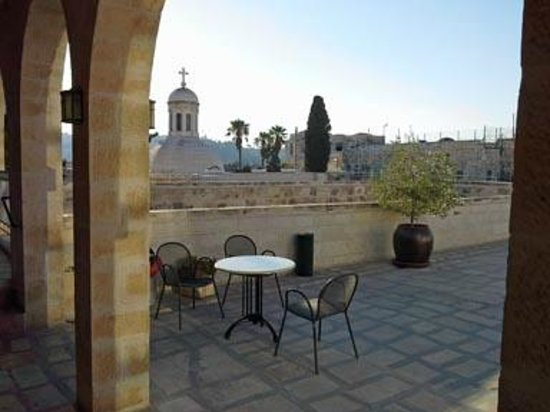 Ecce Homo Convent : Rooftop seating