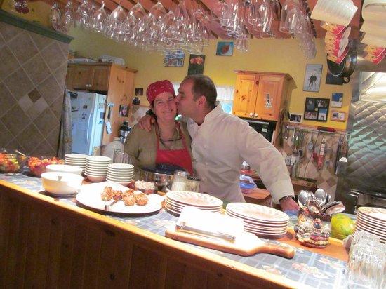 Auberge Le Lupin B&B: Pierre et Sylvie