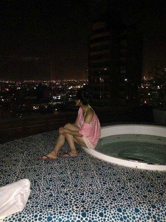 NH Collection Barranquilla Smartsuites Royal: terraza