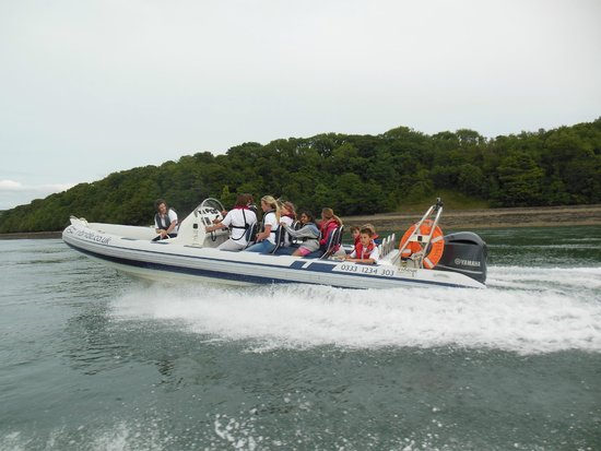 RIB Ride with 1st Silver End Scouts