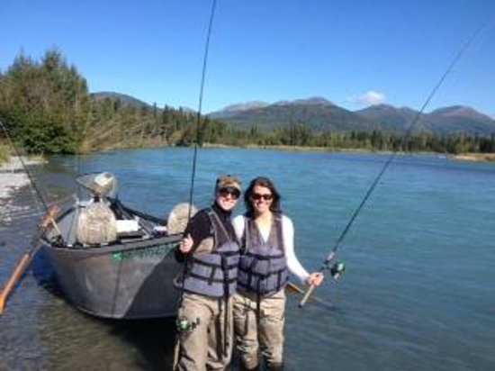 Eagle Landing Resort: Fishing on The Kenai