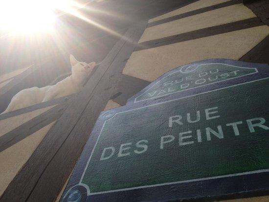 Artisan shops of Josselin : rue des peintres
