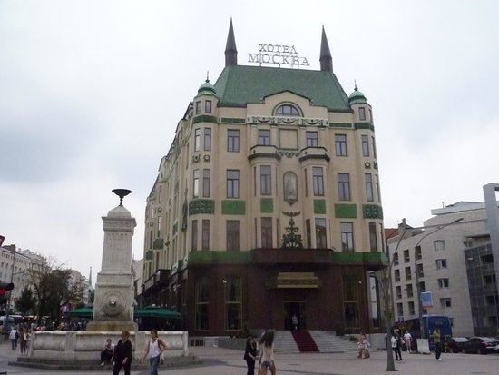 Cafe Hotel Moskva: Hotel Moscow