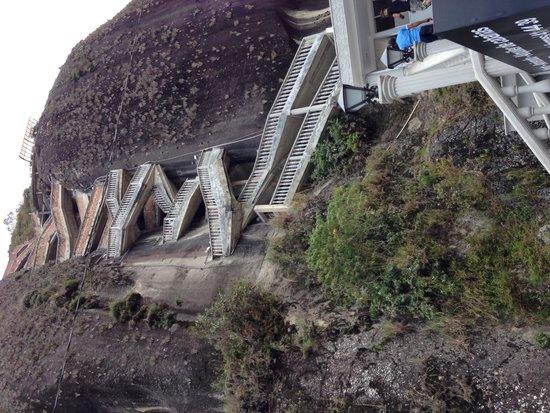 Piedra del Peñol: The 750 steps